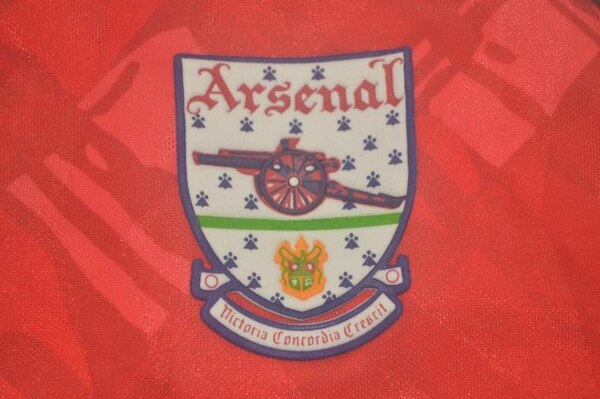 Ретро футболка Арсенал 1990/92